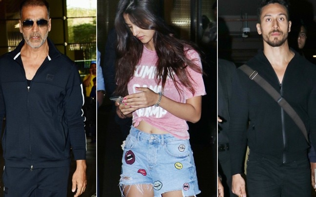Bollywood was on a vacation mood this New Year. If Disha Patani and Tiger Shroff rang in the New Year in Maldives, Akshay Kumar was with his family in South Africa. And now the stars have returned to Mumbai.