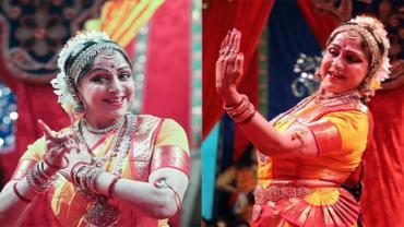 Hema Malini, Bharatanatyam, Radha Raman temple, Vrindavan, Natya Vihar Kalakendra dance school