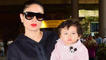 After their New Year vacations, Bollywood stars are now back to business. And Taimur Ali Khan and Kareena Kapoor Khan are the latest to return to Mumbai after their Swiss vacation.