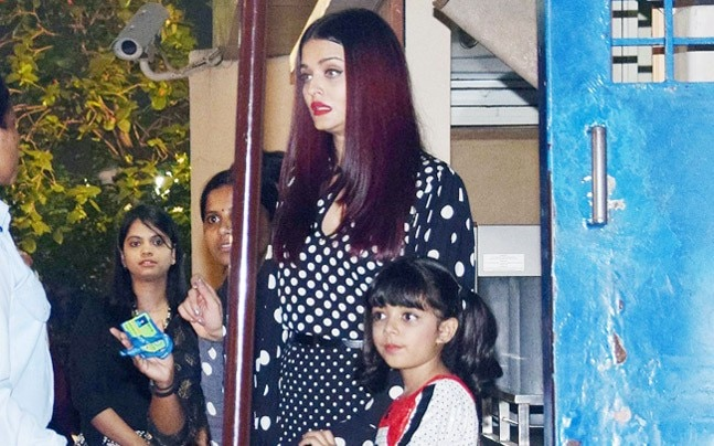 The annual day programme at the Dhirubhai Ambani International School saw a host of B-Town kids gearing up to take the stage, from Shah Rukh Khan's son AbRam to Abhishek and Aishwarya Rai Bachchan's daughter Aaradhya.