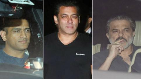 Despite Virat Kohli and Anushka Sharma's reception, Bollywood came to attend Salman Khan's birthday bash at his farmhouse.