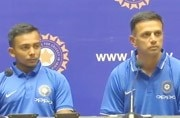 Under-19 coach Rahul Dravid hopes to see some of his wards represent India A in 8 months time