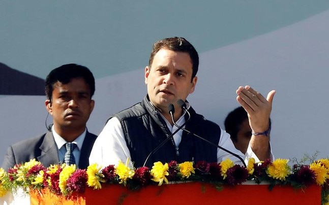 Congress president Rahul Gandhi (Reuters photo)