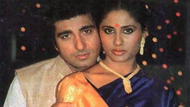 Raj Babbar and Smita Patil