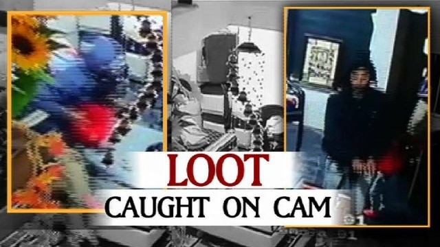 Rajasthan: Chilling daylight robbery caught on camera!