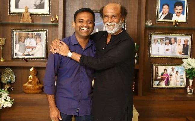 Raju Mahalingam and Rajinikanth