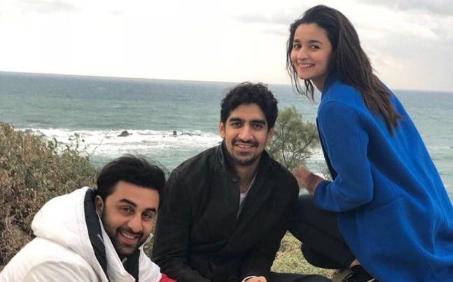 Ranbir Kapoor, Alia Bhatt and Ayan Mukerji