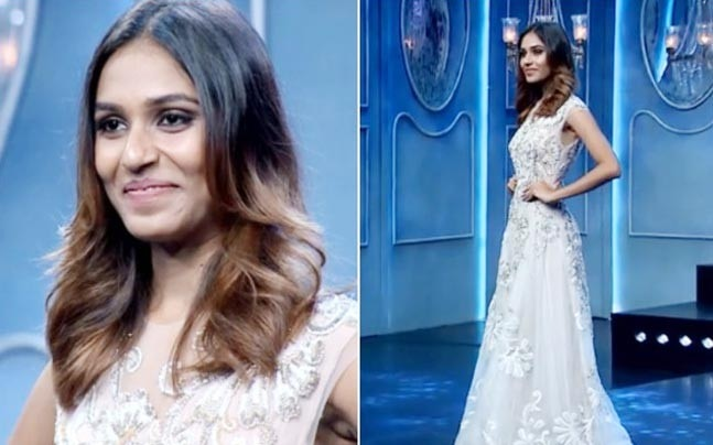 Riya Subodh During The Finale Of India S Next Top Model Season 3 Picture Courtesy