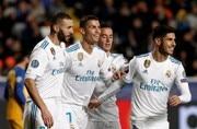 Real Madrid thrash APOEL 6-0 to make Champions League last-16