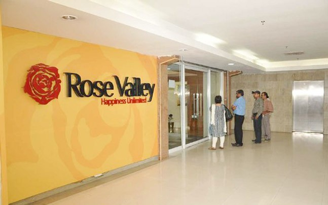 Rose Valley Group office. Source: PTI