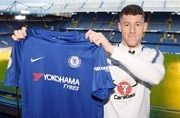 Chelsea sign midfielder Ross Barkley from Everton on the cheap