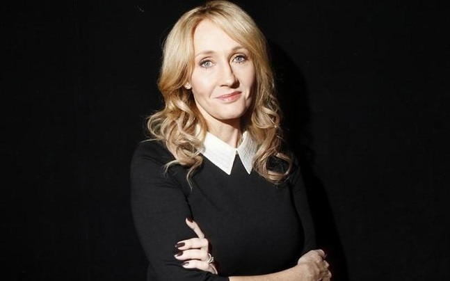 Twitter happy over Rowling's reply to a struggling writer. Photo courtesy: Reuters