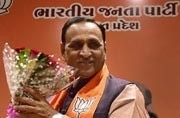 Vijay Rupani was retained as the Gujarat CM for a second term on Friday. (Photo: PTI)