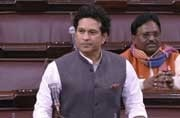 No Sachin Tendulkar Rajya Sabha speech debut as Congress MPs create ruckus over PM Modi's Pakistan remark