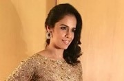 You won't be able to take your eyes off Saina Nehwal in this lovely dress