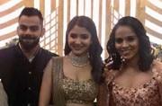 Not just cricketers, Saina Nehwal, Sunil Chhetri and Mahesh Bhupathi attend Virat Kohli-Anushka Sharma reception