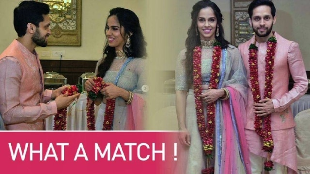 Just Married: Saina Nehwal and Parupalli Kashyap