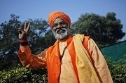 Close shave for controversial BJP MP Sakshi Maharaj as speeding tanker hits his car