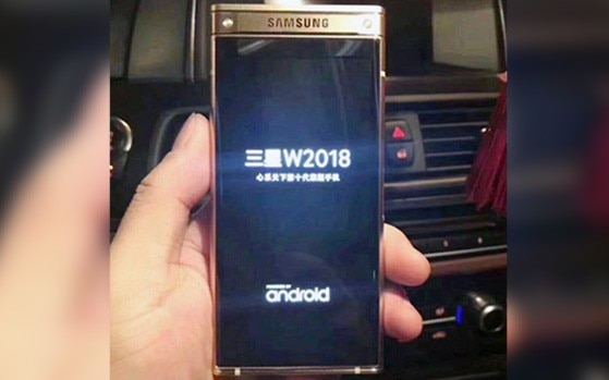 Samsung's upcoming flip phone SM- W2018 leaks in hands-on images