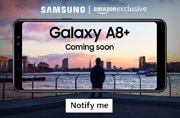 Samsung Galaxy A8+ India launch set for today