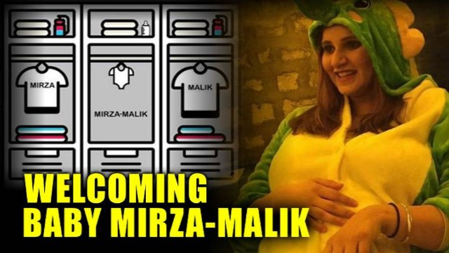 Sania Mirza wore the cutest outfit to her baby shower