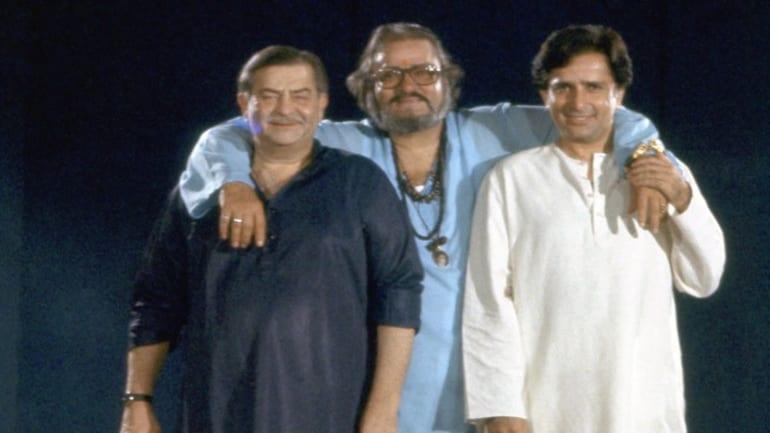 Shashi Kapoor, Shammi Kapoor and Raj Kapoor