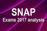 SNAP exam 2017 conducted on December 17: Detailed paper analysis