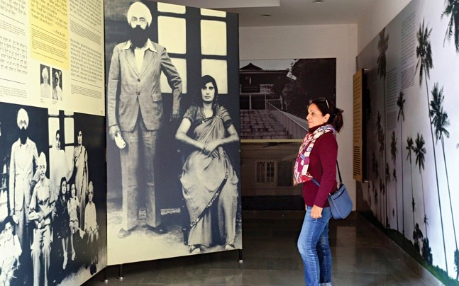 Dr Diwan Singh Kalepani's photographs at the museum