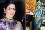 A restaurant in Singapore now has a doll named after Sridevi