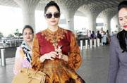 Sridevi looks nothing less than a goddess in this one-piece dress