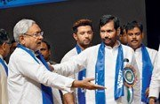 Nitish gushes Dalit love