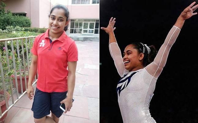 Picture courtesy: Rishibha Gupta/Reuters; Gymnast Dipa Karmakar trains for 8.5 hours every day.