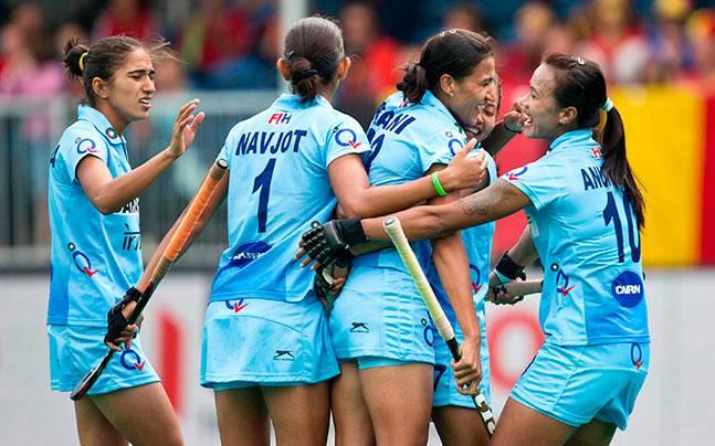 A file image of India women's hockey team. (Image Courtesy: Hockey India)