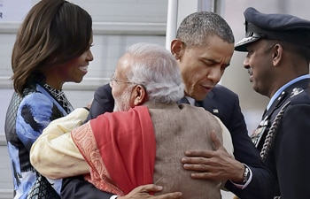 Will bring daughters to India on next visit: Obama
