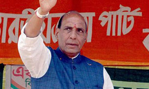 Union Home Minister Rajnath Singh