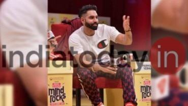 Parmish Verma at India Today Mind Rocks 2018 Delhi
