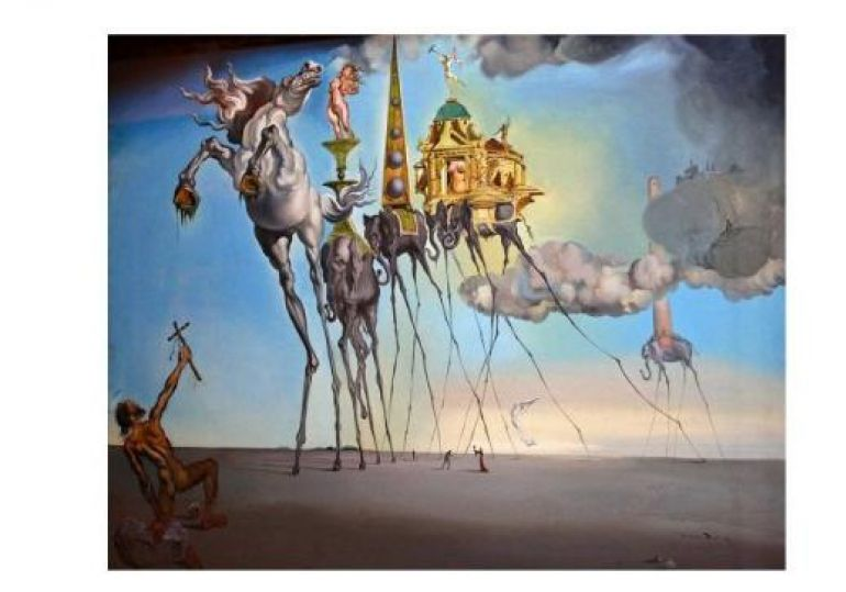 The Temptation of St. Anthony, Dali