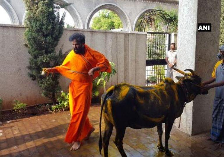 BJP leader Sriramalu