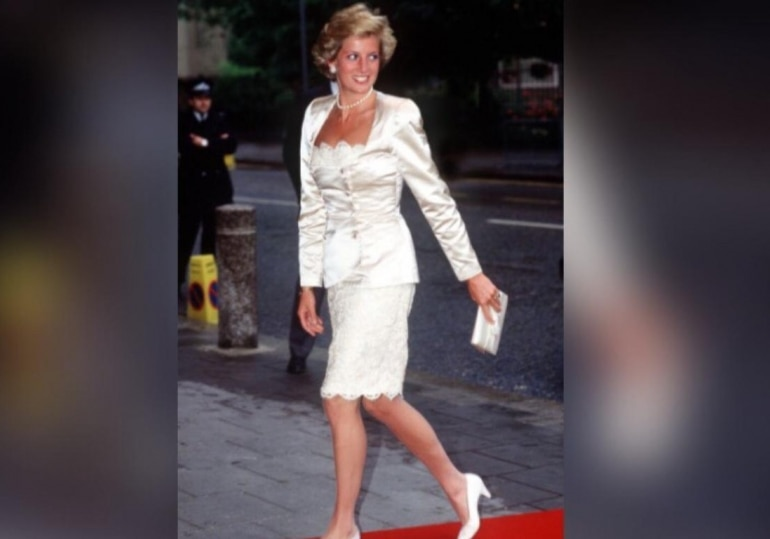 Diana at the Wells Theatre in London.