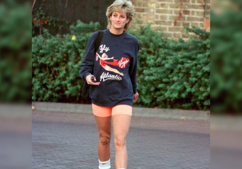 Diana often chose casual outfits, which was considered unsuitable for royals.