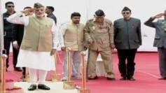 PM Modi azad hind government red fort