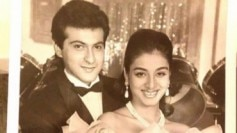 Sanjay Kapoor shared this throwback picture with Tabu.