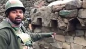 Army officer at LoC