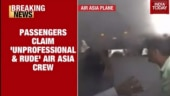 Air Asia uses blowers to force passengers out