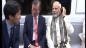 pm modi, mon jae-in, delhi metro