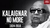 Kalaignar Karunanidhi dies