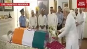 PM Modi, Amit Shah pay last respects to Vajpayee