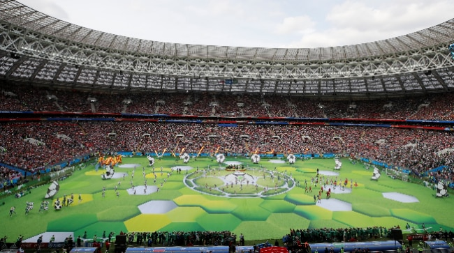 2018 FIFA World Cup Opening Ceremony