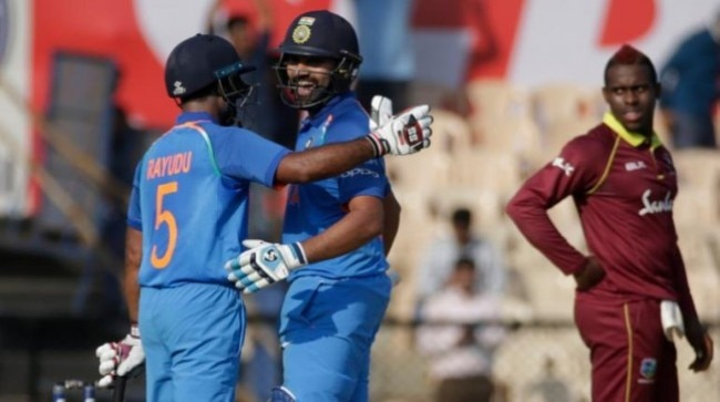 India vs West Indies, Rohit Sharma, Ambati Rayudu