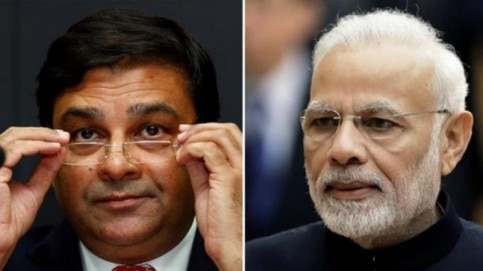 RBI governor Urjit Patel meets PM Modi